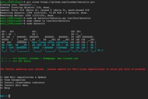 menginstall tools kali linux di ubuntu