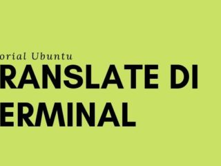 membuat google translate di terminal