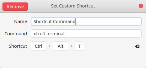 Terminal di Manjaro dengan Shortcut Keyboard