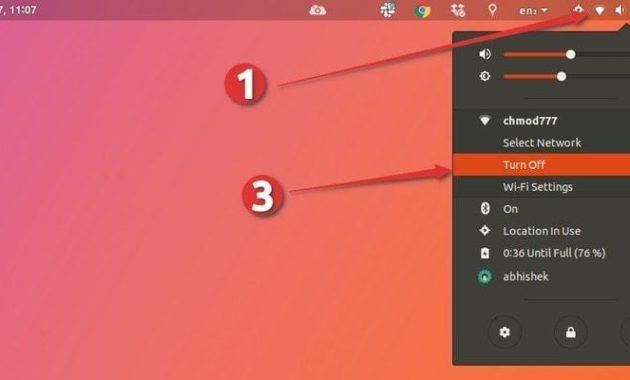 Restart Network di Ubuntu
