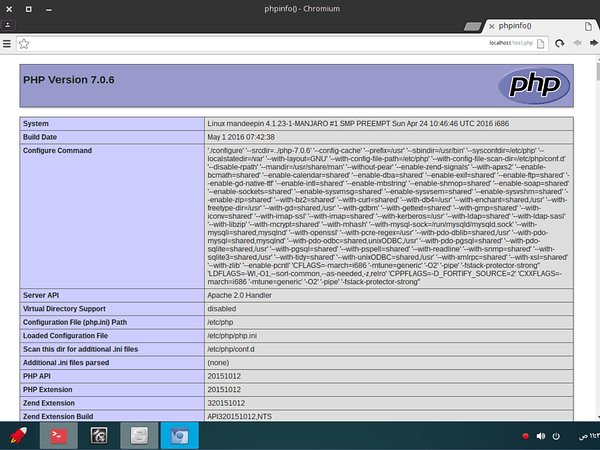 Install Apache,MariaDB, PHP (LAMP) di Manjaro Linux