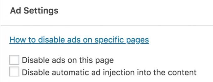 Menyembunyikan Iklan Adsense di Homepage WordPress
