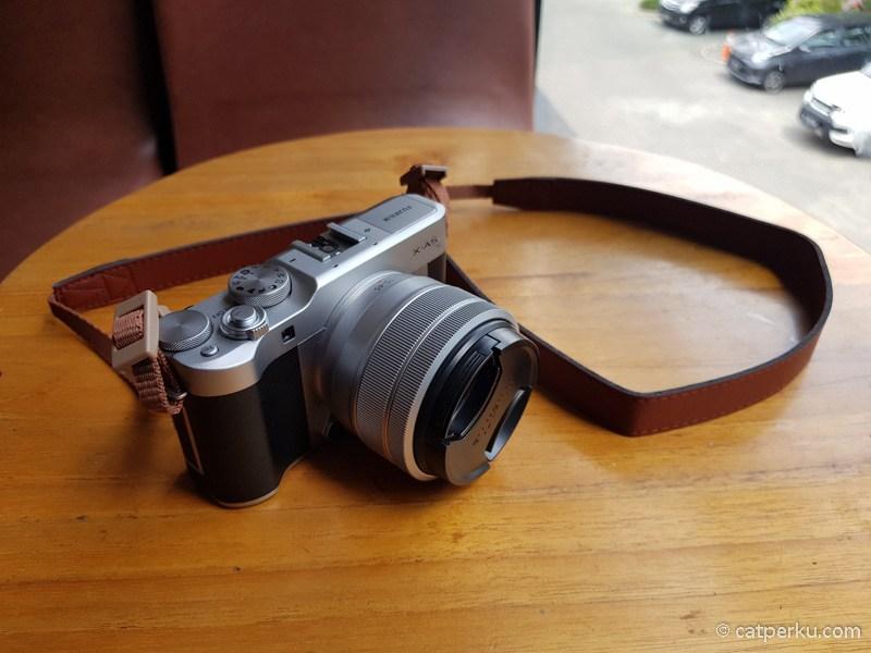 Review Fujifilm X-a5