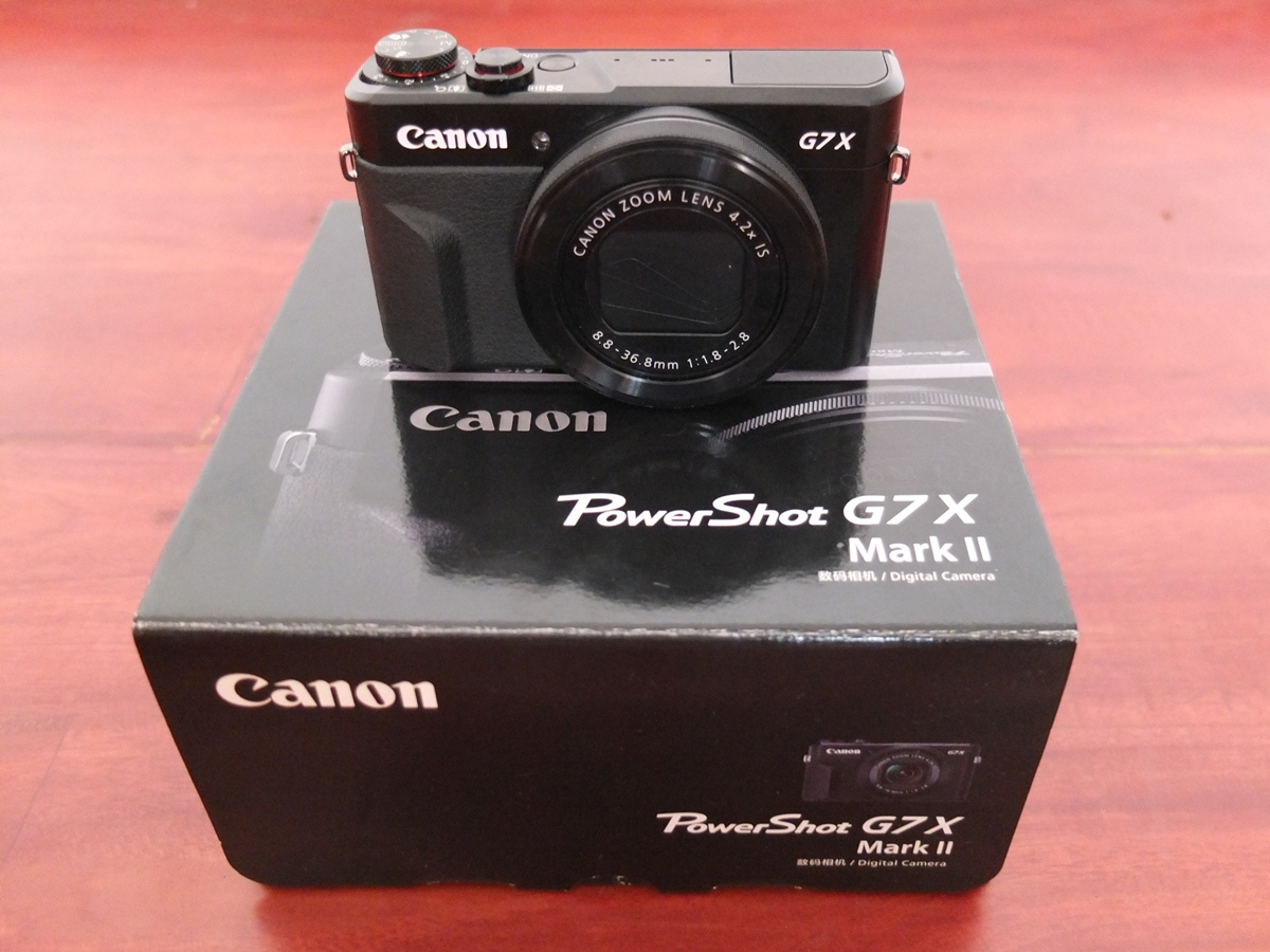 Review Canon G7x mark II