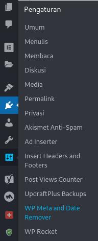 Menghilangkan Tanggal Posting di WordPress