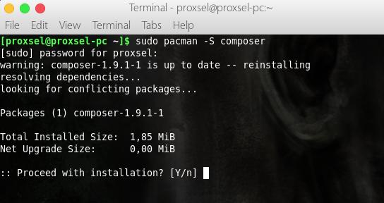 Install Laravel di Linux