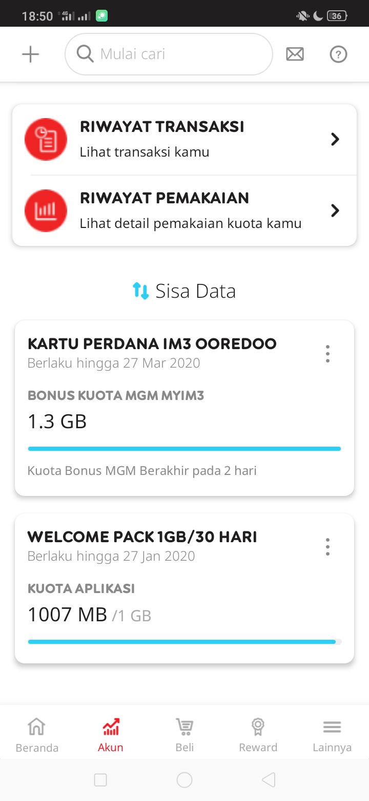 Kuota Gratis Indosat Ooredoo Terbaru