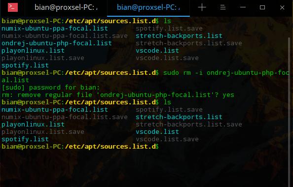 Cara Menghapus PPA di Ubuntu/Debian Linux