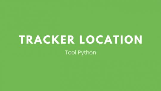 membuat tracker location dengan python