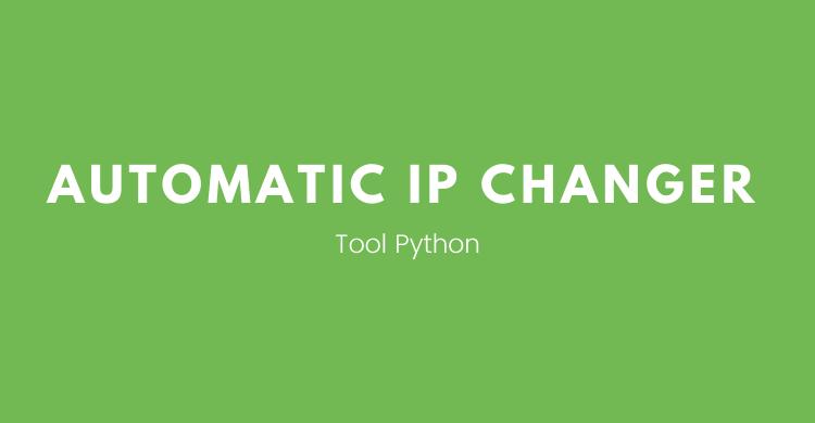 Membuat tool automatic ip changer