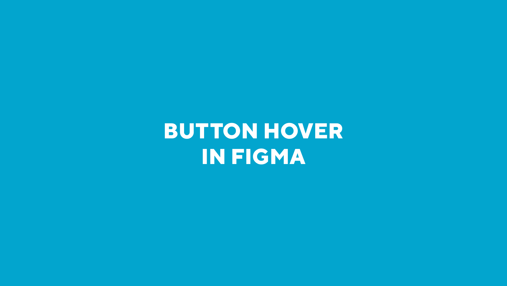 Button hover in figma